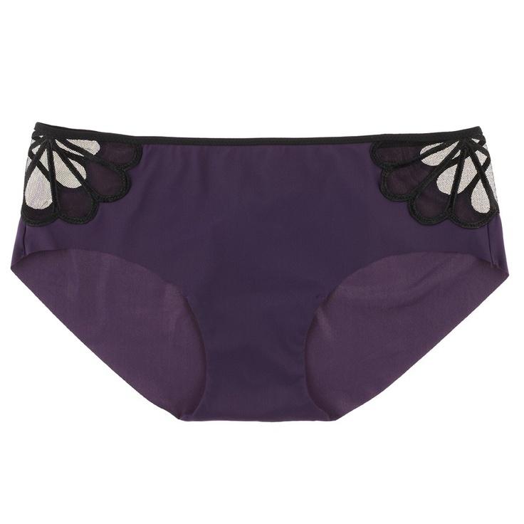 Buy Huit luxury lingerie - Huit Equivoque Brazilian Brief   Journelle Fine Lingerie