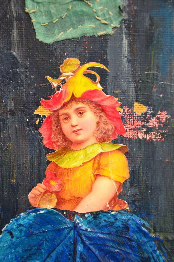 Detail, Eva<3Adam, mixed media,2015