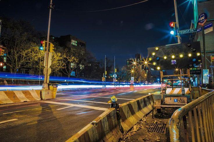Go Speed Racer #NYC #NewYorkCity #NewYork #Manhattan #Downtown #Canon #TeamCanon #CanonFanPhoto #Urban #LongExposure #Colorful #City #Light #LightTrails #CityScape #Car #Fast #Speed #Street #Road #Traffic #Night #Construction #Amazing #Igers by alex_bergerr
