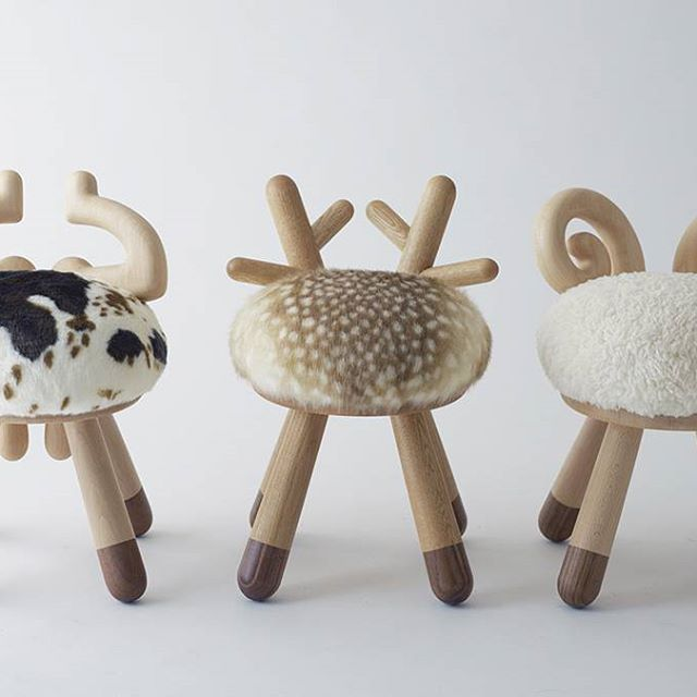 Head Over Hooves For These Stools From #kaminau0026C! Wouldnt They Be Great In  A · Animal ThemesKid ChairBambiBaby ...
