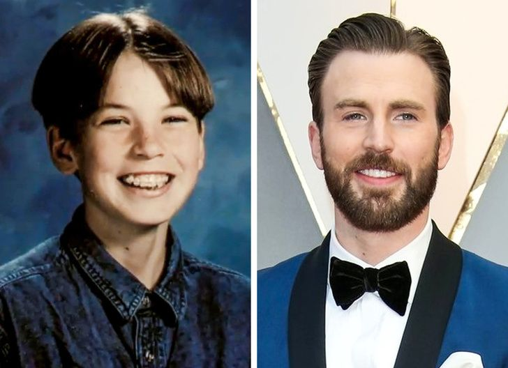 10 Childhood Pictures Then and Now of Famous Celebrities ...