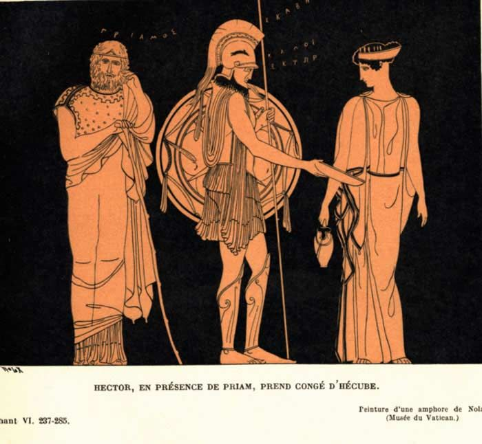 what is the significance of the story of hecuba and priam in hamlet