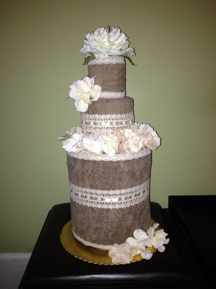 Towel Cake Ideas Pictures