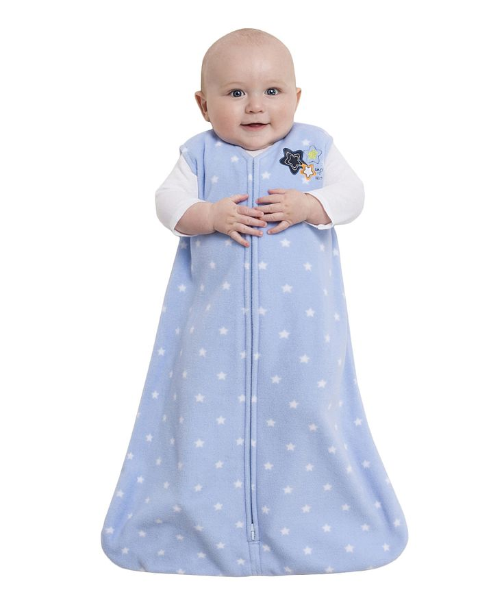 Blue Twinkle Stars SleepSack - Infant | zulily