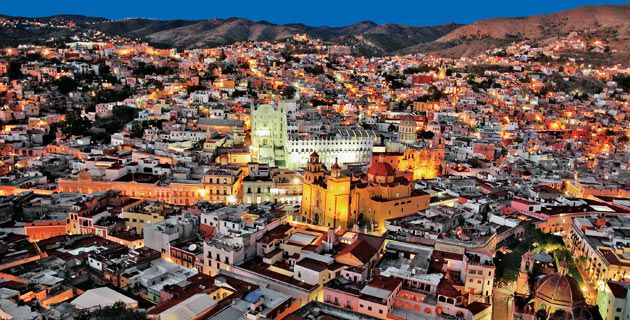 vista panorámica, Guanajuato. / Ernesto Polo