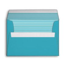 Viking Blue Striped Envelope