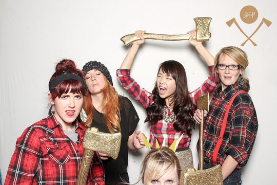 Lumberjack theme party