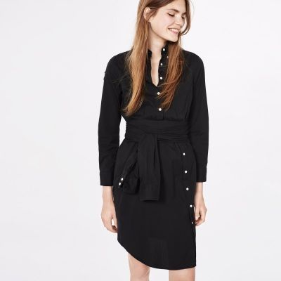 GANT Rugger | Dreamy Oxford Smil(l)e Shirt Dress Knotted Shirt | FW16