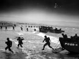 D-Day - June 6, 1944; this is true courage and passion to do what was necessary and what was right