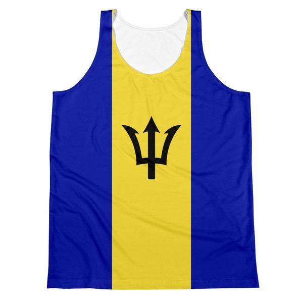Barbados Flag - Men's Tank Top