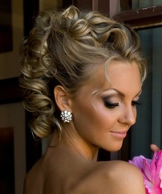 hair styles for thin hair and updo for and wedding on 8319