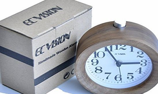 ECVISION Alarm Clock Classic Small Round Silent Beech Wood Table Alarm Clock Travel Clock (90*90*50, Black Wa No description (Barcode EAN = 6925249759783). http://www.comparestoreprices.co.uk/december-2016-week-1/ecvision-alarm-clock-classic-small-round-silent-beech-wood-table-alarm-clock-travel-clock-909050-black-wa.asp