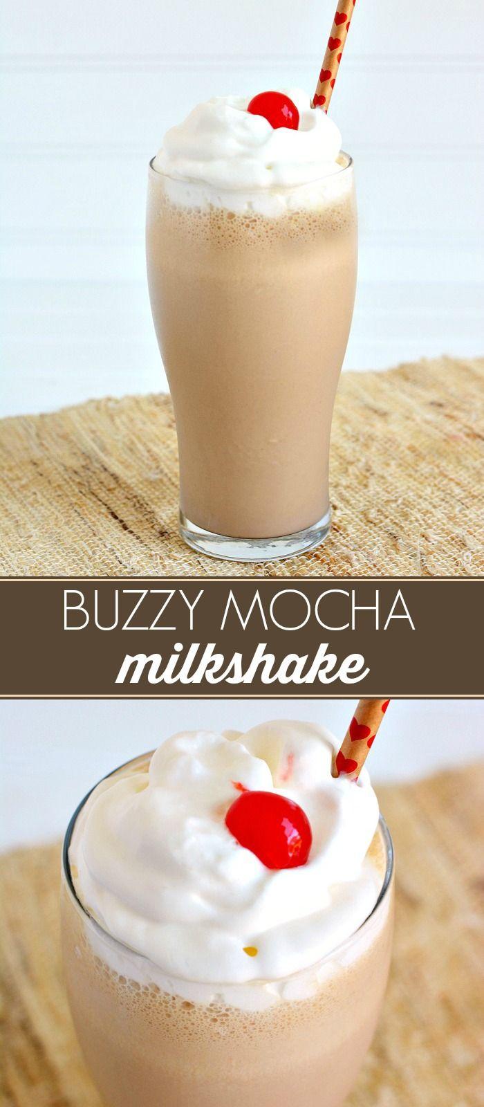 Buzzy Mocha Milkshake Recipe