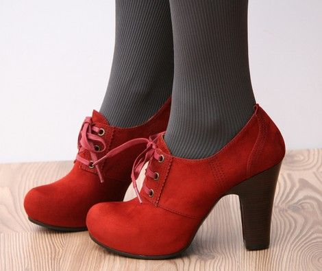 Sweetest red shoes! ever