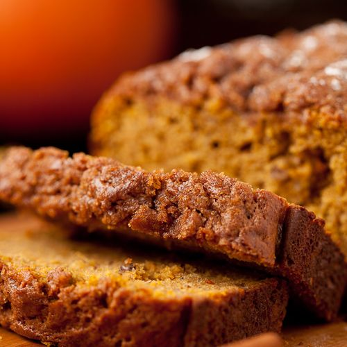 This is the BEST Pumpkin Spice Bread for fall. It makes your house smell amazing. Supremely moist, tender, and scrumptious.