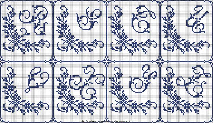 cross stitch alphabet