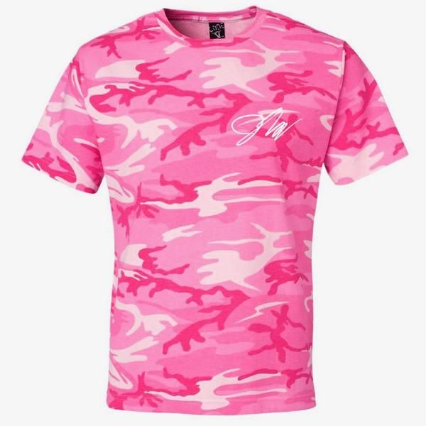 Jake Paul Pink Camo Shirt  f7758b7a9
