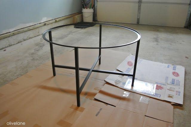 Olive Lane: Ikea Hack : Vittsjo Coffee Table