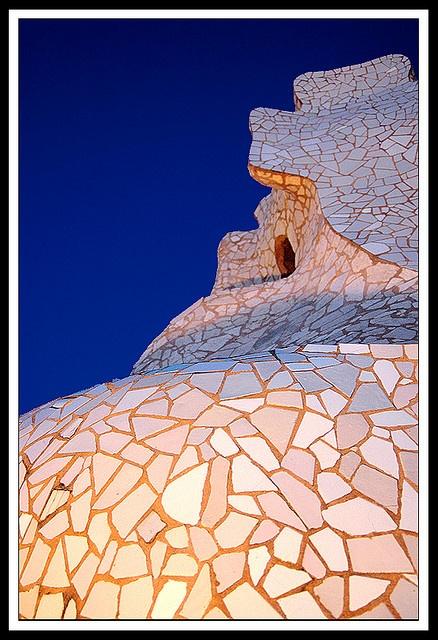 Gaudi - chimney firepit treatment