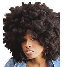Sensationnel Soft n' Silky AFRO NATURAL hair. <3 the texture and look!