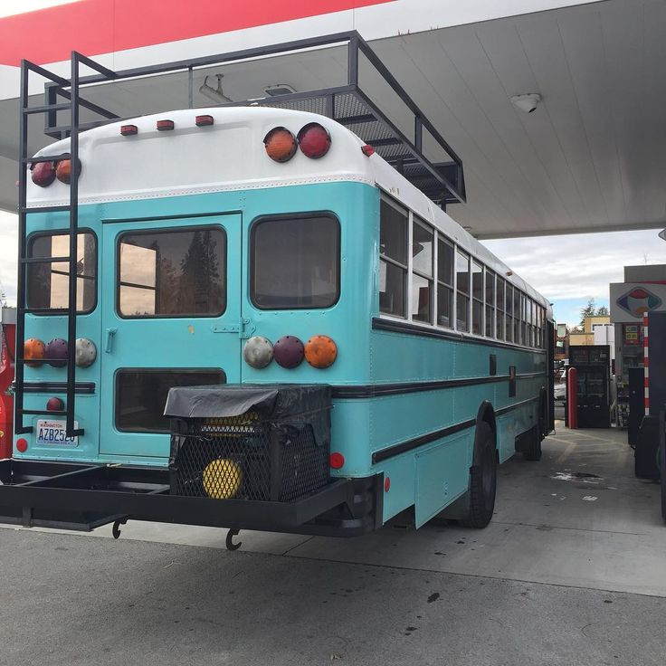 """72 Likes, 1 Comments - Tettleton/Ivey Crews (@lewiethebus) on Instagram: """"Lewie is getting so amped up he asked to go get gas for the maiden voyage and I couldn't help it.…"""""""