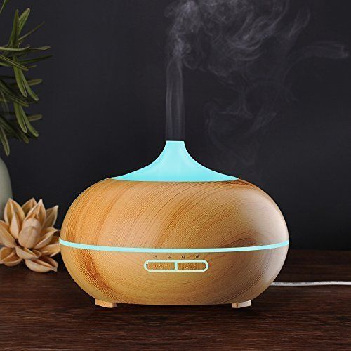 Ultrasonic Cool Mist Humidifier Aroma Essential Oil Diffuser Home Office Decor  #UltrasonicCoolMistHumidifier