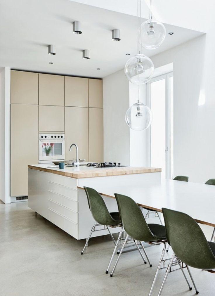 78 best Moderne Küche images on Pinterest Kitchen contemporary - esszimmer gestaltung 107 ideen