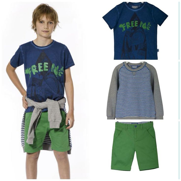 The summer look for the boys:   Sweater: Perry  T-shirt: Pehr Shorts: New Castle  You can find the outfit on our webshop here:  http://www.ticket2heaven.com/children%27s-clothing/products/sets/set-for-boys-with-top%2C-t-shirt-and-shorts/141_saet_bluse_tshirt_shorts_dreng.html#http%3A%2F%2Fwww.ticket2heaven.com%2Fsearch=undefined&start=9&q=sets&sz=12