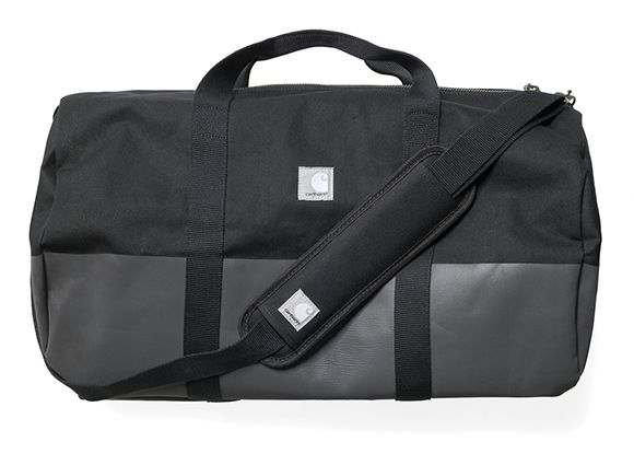 Slam Jam x Carhartt WIP Reflective Adams Duffle Bag - Black