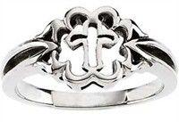 Christian Purity Rings - Cross Ring