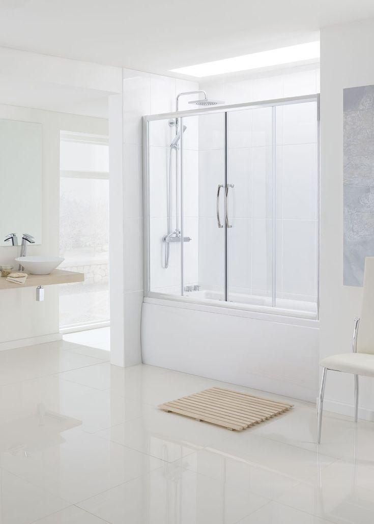 Over Bath Double Slider Bath Screen Door › Lakes Bathrooms