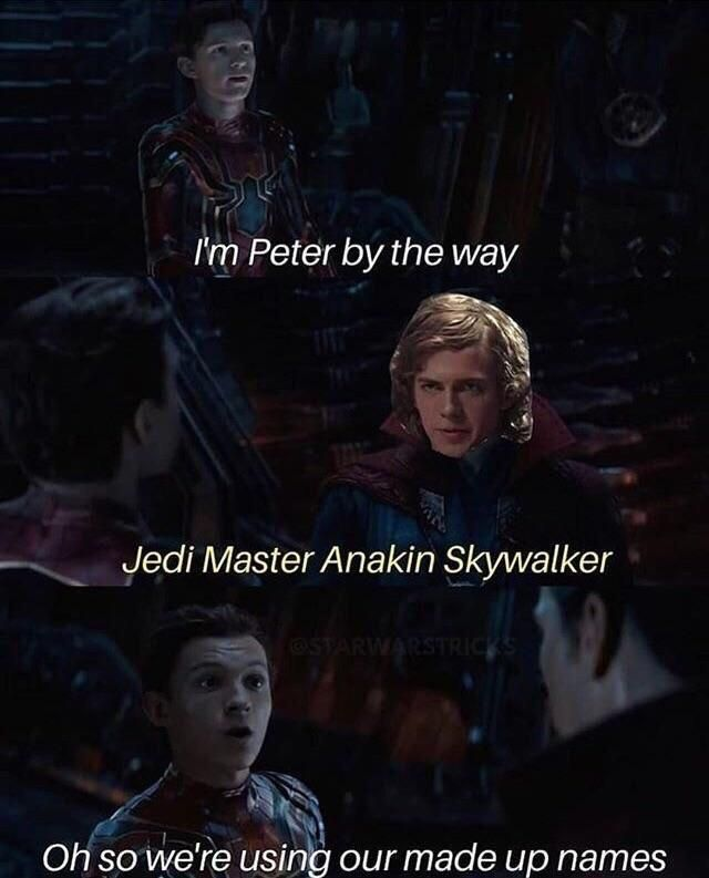 The Meme War Crossover Is Strong With This One Star Wars Humor Star Wars Quotes Star Wars Memes