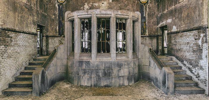 Une station de pompage abandonnée