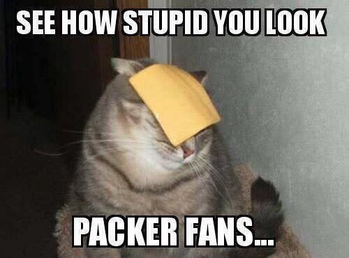 Just say no... To cheeseheads