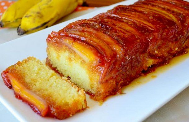Portuguese Banana Caramelized Cake Recipe In 2019 Cake Recipes