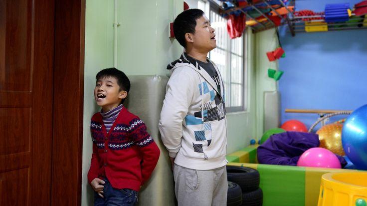Om tre kinesiske barn med autisme og deres mødre.