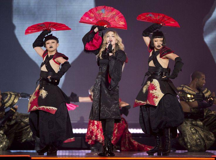 AyaBambi w/ Madonna   Rebel Heart Tour, Bitch I'm Madonna, 2015