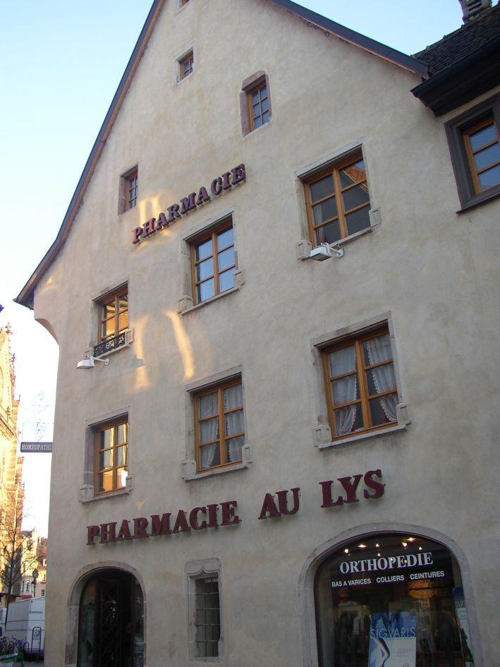 Pharmacie au Lys - #Mulhouse - #Alsace