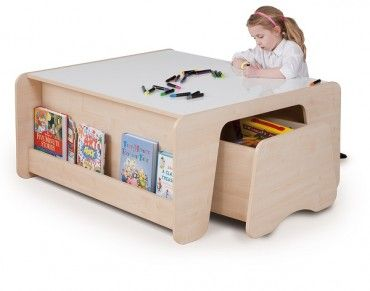 Trudy Double Playtable With Whiteboard Surface