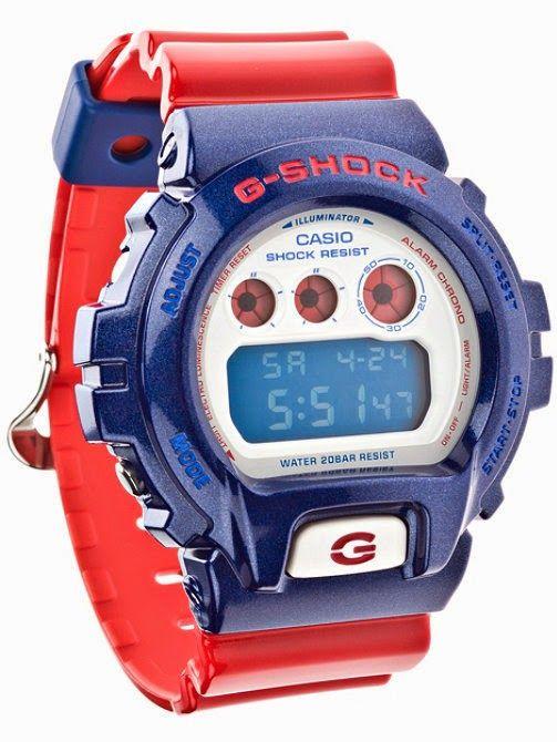 Uhren-News - Uhren Blog aus Basel: FC Basel oder FC Barcelona Uhr... In der Schweiz erhältlich bei: http://www.uhren-shop.ch/de/armbanduhren/g-shock-classic-rot-blaue-lcd-digitaluhr
