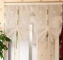 Bordado cortina de fios de puxar cozinha jardim(China (Mainland))