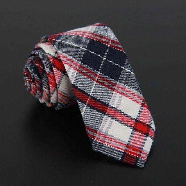 SHENNAIWEI paño de tela escocesa de los hombres de algodón y tela de lino de Alta calidad tie 5.5 cm flaco corbata gravata marca 2017 de lujo delgado lot en Corbatas y Pañuelos de Moda y complementos de hombre en AliExpress.com   Alibaba Group