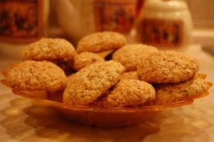 Cookies from oatmeal