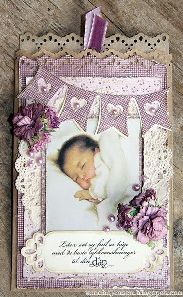 Really so unique baby Cards