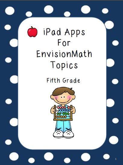 Fifth Grade Envision Math Resourses