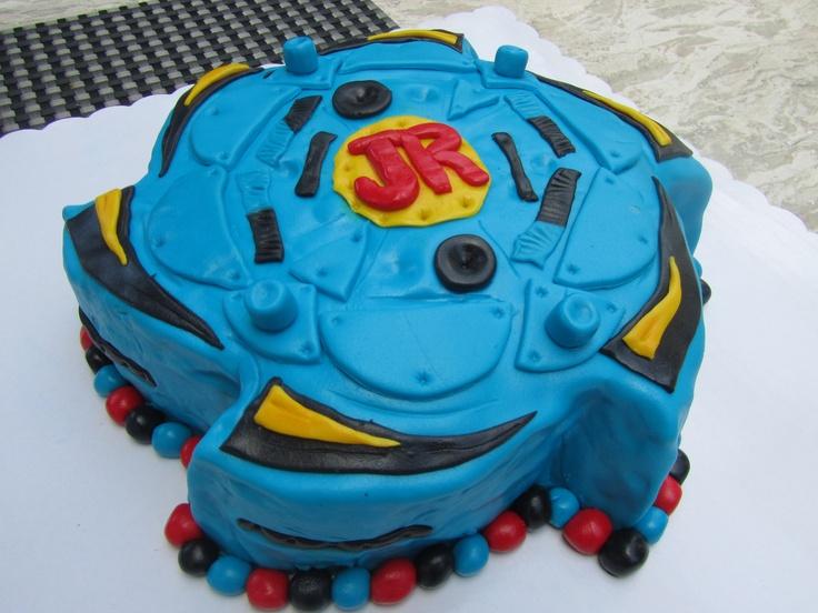 Beyblade cake ashton party ideas pinterest for Anime beyblade cake topper decoration set