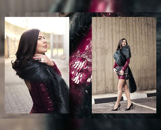 The Togs - Asos Fur Scarf, River Island High Heels - Kygo - Here for You ft…
