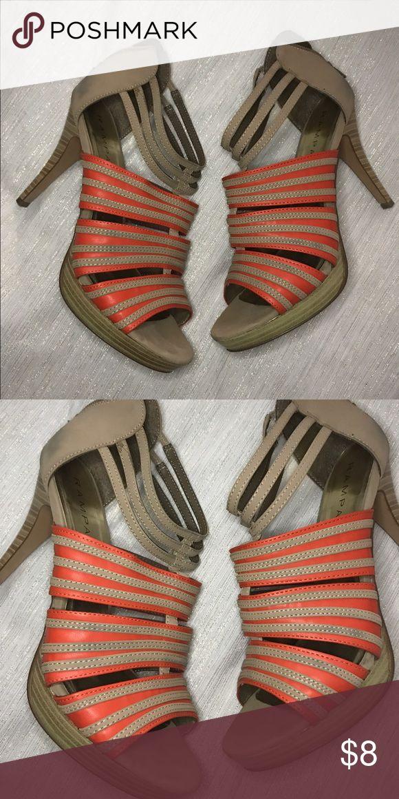 Bright heel Rampage high heel Shoes Heels