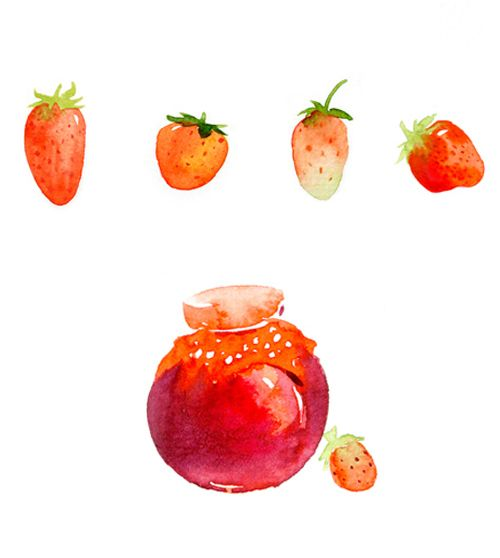 Strawberry\Cherry on Behance