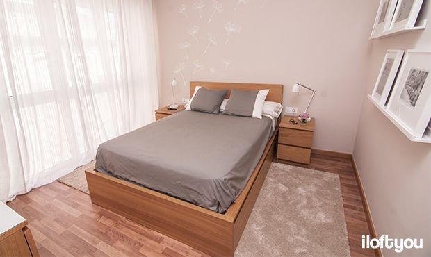 #proyectosantalo #iloftyou #interiordesign #ikea #barcelona #lowcost #bedroom #malm #ribba #myvinilo #tral #matilda
